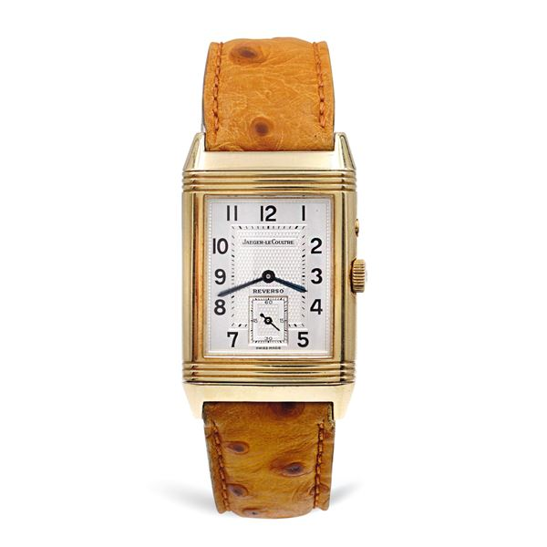 Jager Le Coultre Reverso Duoface Night Day, orologio da polso