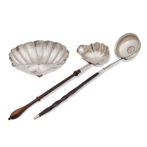 Gruppo di oggetti in argento (3)
