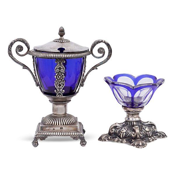 Giuseppe Succi - Due oggetti in argento