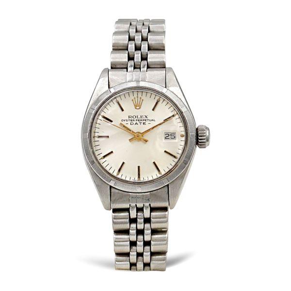 Rolex Oyster Perpetual Date vintage, orologio da donna