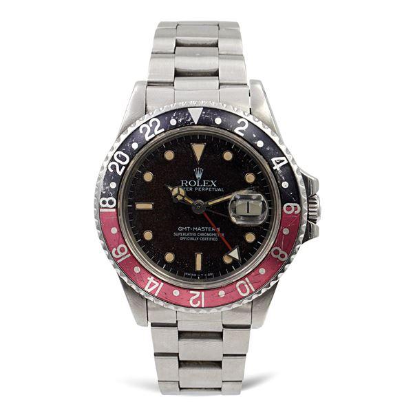 Rolex Gmt Master II Fat Lady Oyster Perpetual, orologio da polso