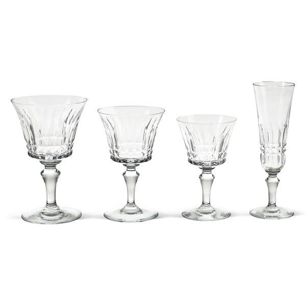 Baccarat, servizio di bicchieri in cristallo (40)