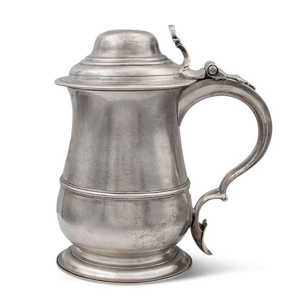 Tankard in argento, Giorgio II