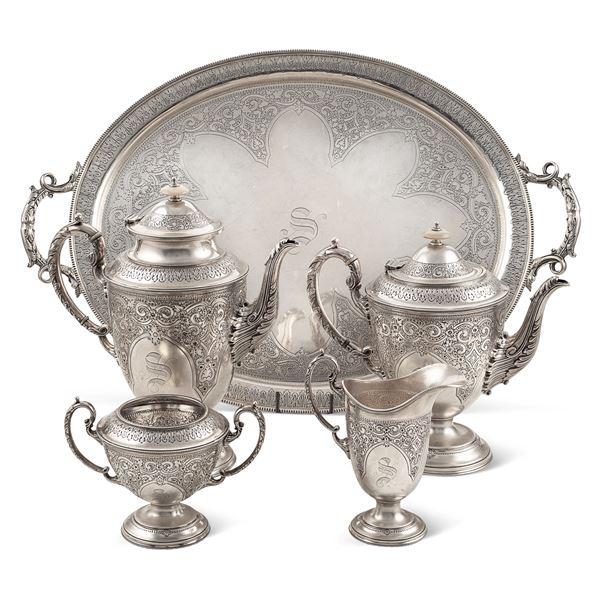 Servizio da the e caffè in argento
