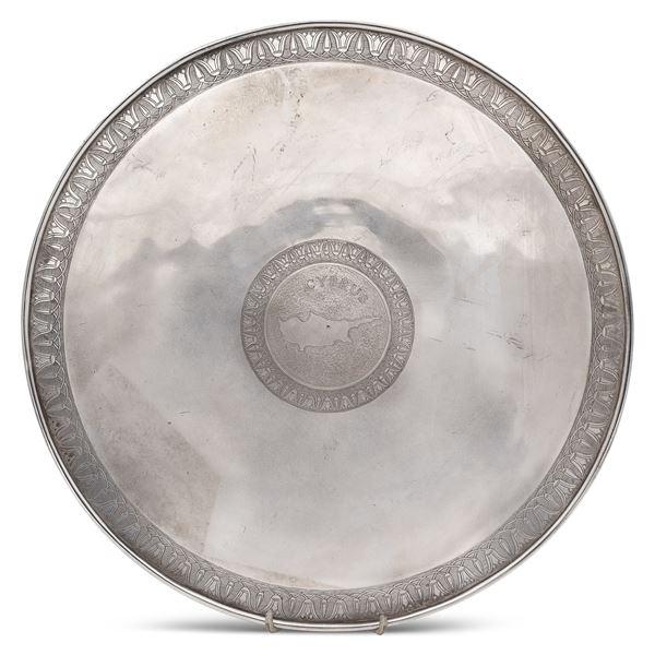 Alzata in argento titolo 950