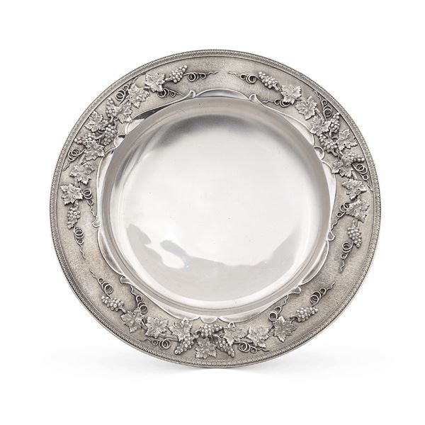 Alzata in argento