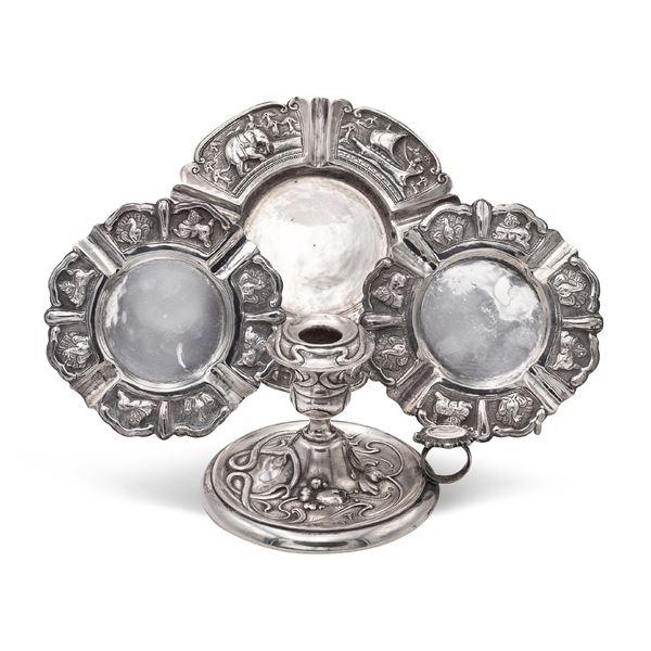 Gruppo di oggetti in argento (4)