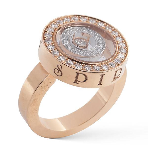 Chopard, anello collezione Happy Spirit