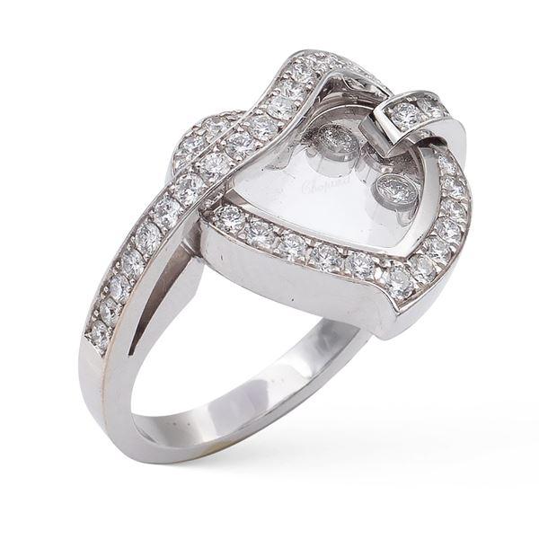 Chopard, anello collezione Happy Diamonds