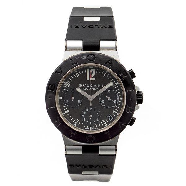 Bulgari Diagono Aluminium, orologio cronografo da polso