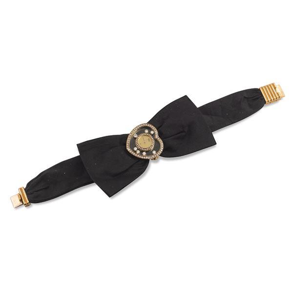 Chopard Alta Moda, collezione Happy Diamonds Heart, orologio da donna