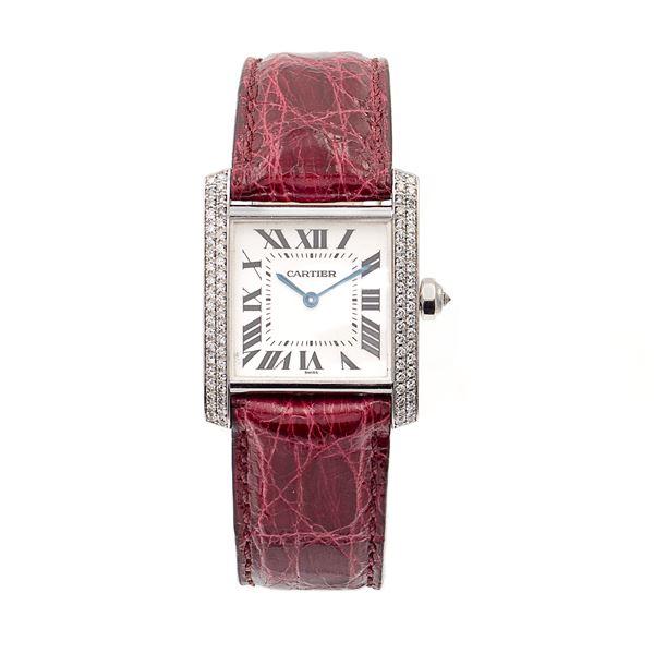 Cartier Tank Française, orologio da donna