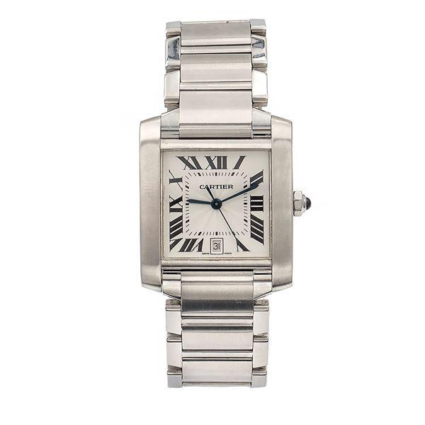 Cartier Tank Française, orologio da polso