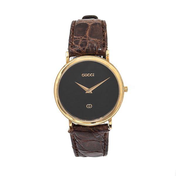 Gucci, collezione Crest, orologio da polso