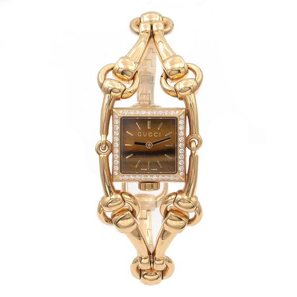 Gucci, collezione Signoria, orologio da donna