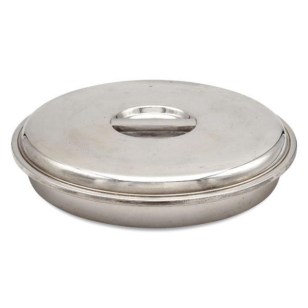 Risottiera in argento