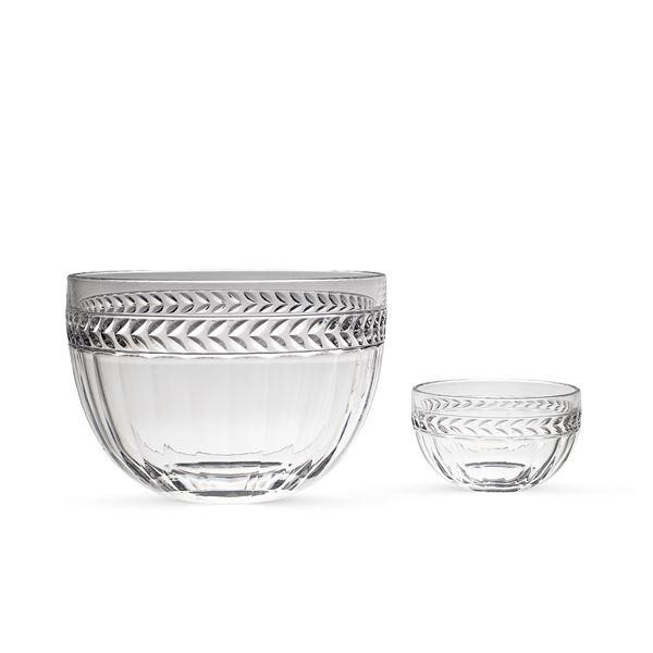 Villeroy & Boch, servizio da macedonia in vetro trasparente (13)